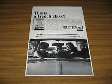 1967 Print Ad RCA Stereo 8-Track Cartridge Tapes French Language