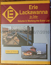 MORNING SUN BOOKS - ERIE LACKAWANNA In Color Volume 9 - HC 128 Pages All Color