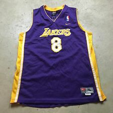 VTG NIKE KOBE BRYANT Basketball LOS ANGELES LAKERS SEWN Jersey Youth XL Swingman
