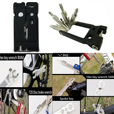 New 19 In 1 Cycling Bike Bicycle Repair Multi Tools With Chain Break Wrench Tool