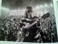 Brian Jones Rolling Stones Alexandra Palace Single Page from Music Book 21x16cm