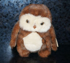 TY BEANIE HOOTERS Stuffed Animal OWL Plush Doll Cute Original Girl Boy Gift