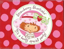 Strawberry Shortcake 8 Pack Invitations & Thank-You Cards Girls Birthday Party