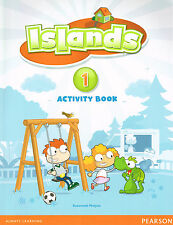 Pearson ISLANDS 1 Activity Book Workbook with Stickers & ONLINE ACCESS CODE @NEW