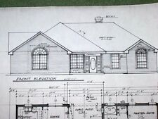 Custom Home Plan 1505 A/C Sq. Ft. 3 Bed 2 Bath 2 Car Garage One Story 2201 Tot