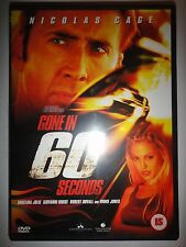 Gone In 60 Seconds (DVD, 2001)
