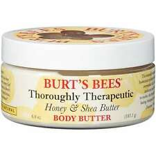 BURT'S BEES THOROUGHLY THERAPEUTIC HONEY & SHEA BODY BUTTER NEW SEALED FULL SIZE