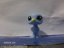 Littlest Pet Shop Blind Bag Baby Blue Sea Gull with Green Eyes #2591