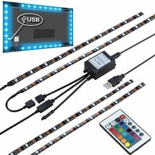 "4X15.7"" USB Powered LED Strip Light TV Background Lighting for Flat Screen HDTV"