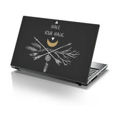 "TaylorHe 15.6"" Laptop Vinyl Skin Sticker Decal Make Your Magic 2150"