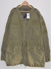 RALPH LAUREN army green cotton combat jacket coat 6XL 6XB 6X BIG & TALL XXXXXXL