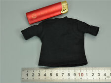 S 1/6 Scale Black T Shirt for Soldier Story Blue Steel Commandos SWAT SS099
