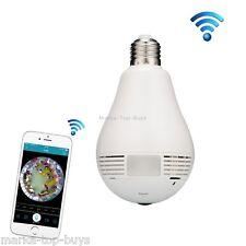 EC7-J8 1.3MP 360 Degree Bulb Lamp Network Panoramic Camera Wireless WiFi Smart S