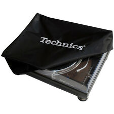 TECHNICS LOGO TURNTABLE DECK COVER Classic-deckb 1 (Black, Logo Silver) NEW