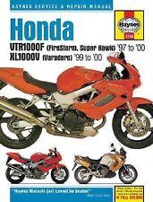 Honda VTR1000F Firestorm Xl1000V Varadero Haynes Repair Manual Handbook  M3744