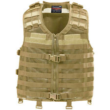 Pentagon Thorax Tactical Combat Military MOLLE Mesh Vest Airsoft Operator Coyote