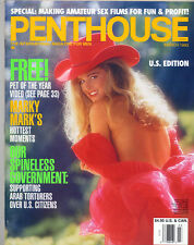 Penthouse march 1993 ed.USA Natalie Smith stile Playboy