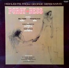 PORGY AND BESS - HIGHLIGHTS - MEL TORME, FRANCES FAYE - BETHLEHEM LBL - 1976 LP