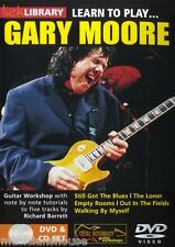 Lick Library Learn To Play Gary Moore aún tenemos el Blues Rock tutor Guitarra Dvd