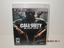 Call of Duty Black Ops  for  PS3 PlayStation 3 BluRay Good Condition Flawless