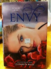 Envy by Elizabeth Miles 2012 Hardcover Fury Series Book 2 Two