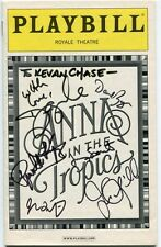 Jimmy Smits Daphne Rubin-Vega David Zayas Anna In The Tropics Signed Playbill