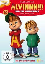 ALVINNN!!! UND DIE CHIPMUNKS - FOLGE 6 DVD Z.TV-SERIE-DAS BAUMHAUS   DVD NEU