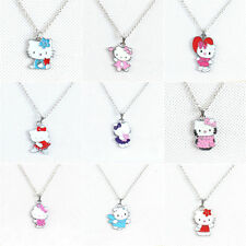 Wholesale 9X Set Cat Pendant Necklace Girl Kid Birthday Party Bag Favor Gift