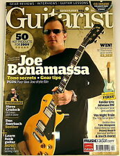 GUITARIST MAGAZINE April 2009 Joe Banamassa Gibson Fender VOX Peavey Ovation LAG