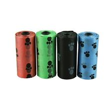 4Roll Degradable Pet Dog Waste Poop Bag With Printing Doggy Bag 22*31CM Newest