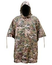 Pro Force Waterproof Nylon HMTC Camo Poncho Military Camping MTP Army Basha