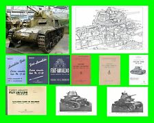 COLLECTION - CARRO ARMATO FIAT ANSALDO M13-40 ARMOURED TANK Manual - DVD