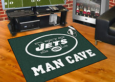 "New York Jets Man Cave 34""x45"" All-Star Area Rug Mat"