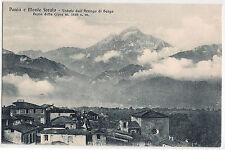 1920 - Pania e Monte Forato - Veduta dall'Arrigo di Barga