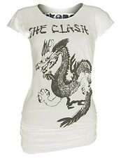 Unworn AMPLIFIED IKONS THE CLASH Dragon Rock Star Tunika Longshirt T-Shirt g.XS