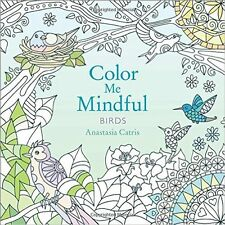 COLOUR ME MINDFUL BIRDS ~ Adult & older children colouring book Great Quality