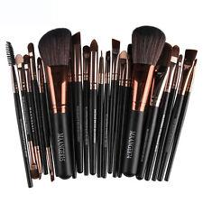 22pcs Pro Cosmetic Brush Makeup Blusher Eye Shadow Kabuki Brushes Set Tool Kit N