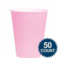 Pink 12oz. Plastic Cup (50 Pack) Party Supplies