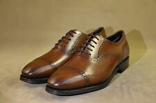 MEERMIN Mallorca:classic collection gwelted cap toe punched oxford 5 eyelet 9UK