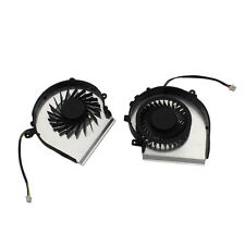 Right & Left CPU Fan Laptop CPU Cooling Fans For MSI GE62 GE72 Series 3 pins