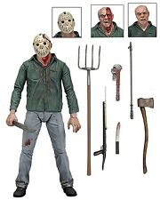 "Friday the 13th Part III 3D JASON VOORHEES 7"" Scale Ultimate Action Figure NECA"