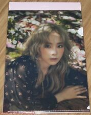 TAEYEON GIRLS' GENERATION SMTOWN COEX Artium SUM GOODS I CLEAR FILE L-HOLDER A