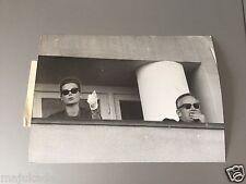GRACE KELLY et LE PRINCE RAINIER - PHOTO DE PRESSE ORIGINALE  18x13 cm