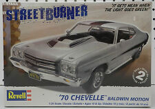 1970 CHEVY CHEVELLE BALDWIN MOTION SS 70 SEALED NOS REVELL MODEL KIT