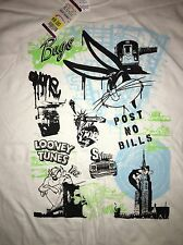 Bugs Bunny TAZ Looney Tunes  90s T Shirt X Large XL New NWT Deadstock Vtg