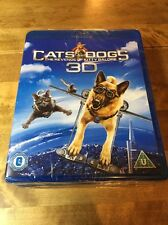 Cats and Dogs 2 Blu-ray 3D + Blu-ray. 2 Discs. New Sealed. Freepost Uk. Kitty