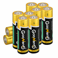 Lot of 10pcs Gaoneng Max AA Alkaline Batteries 1.5v Bulk Batteries Set for Toys
