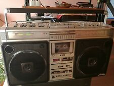 SHARP GF 9696Z Boombox Ghettoblaster (LIKE NEW) Top Running and Rare