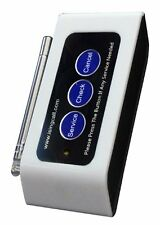 SINGCALL.Wireless nurse pager call systems, multi-button pager for coffee shop