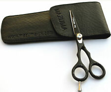 MAZUMA FUNKY HAIRDRESSING SCISSORS/J2/BLACK PANTHER FOR LEFT HAND